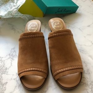 bb066ba2602 Jack Rogers Shoes - NWT Jack Rogers Campbell Suede Mules